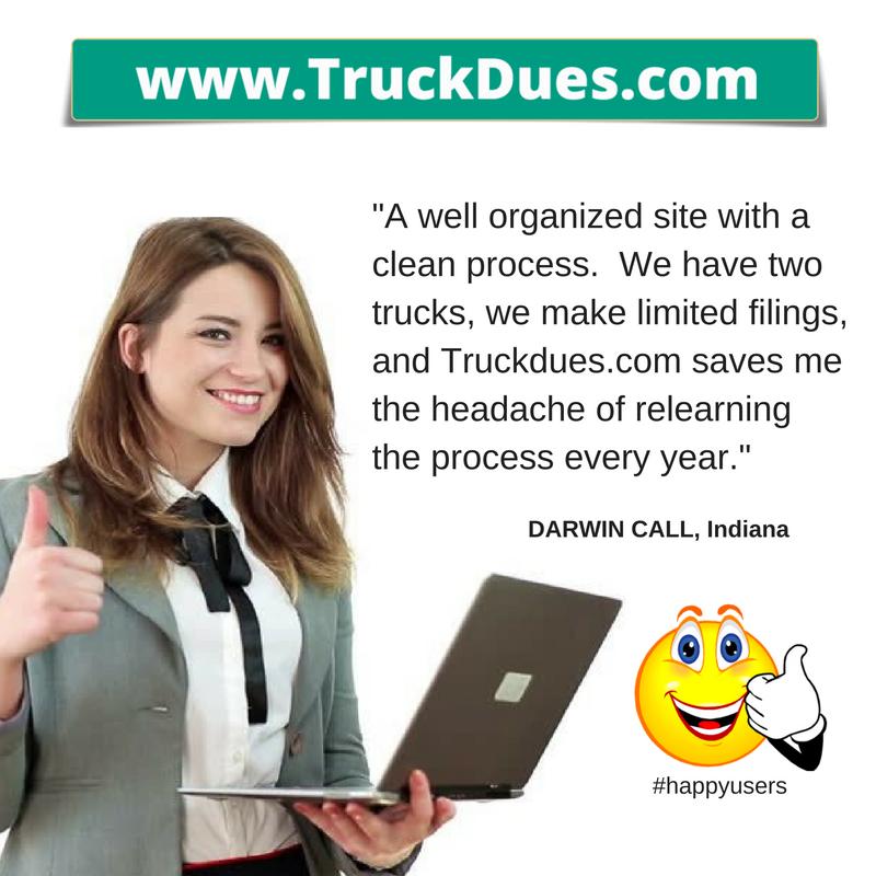 2290 truck tax returns online