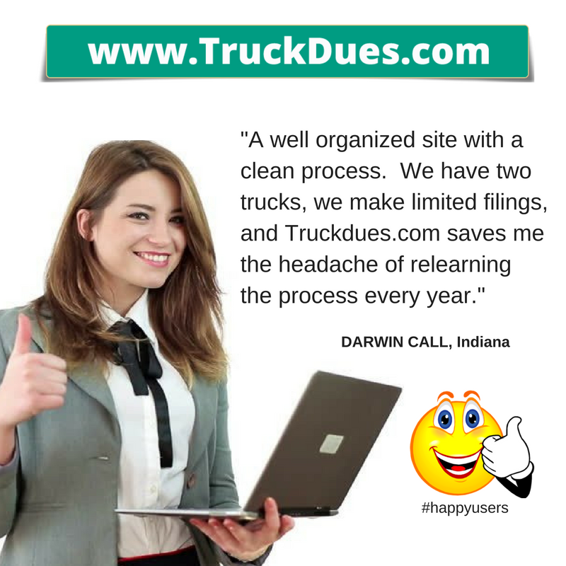 2290 truck tax returns online