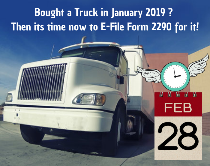 Internal Revenue Service Form 2290 Truckdues Com To E File Vehicle Use Tax Starts From 7 99