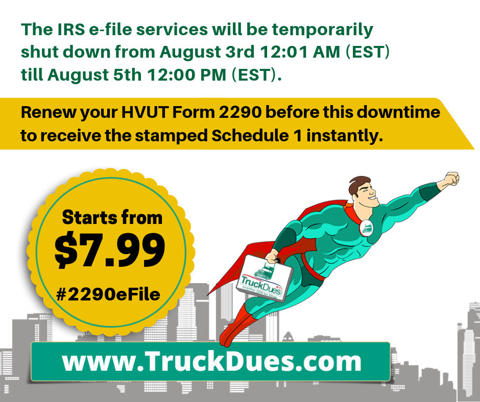 VIN Correction | TruckDues com | To e-file vehicle use tax | Starts